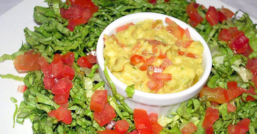Salada de Abacate