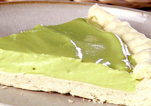 Torta sequilho de abacate