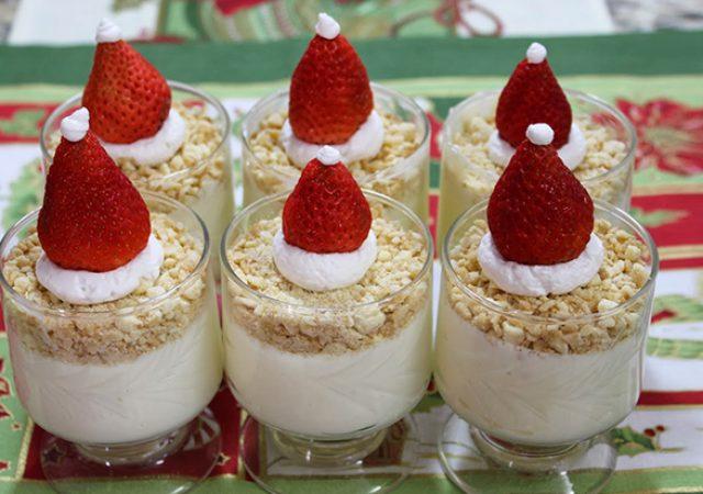 Receita de Natal: Torta de limão na taça