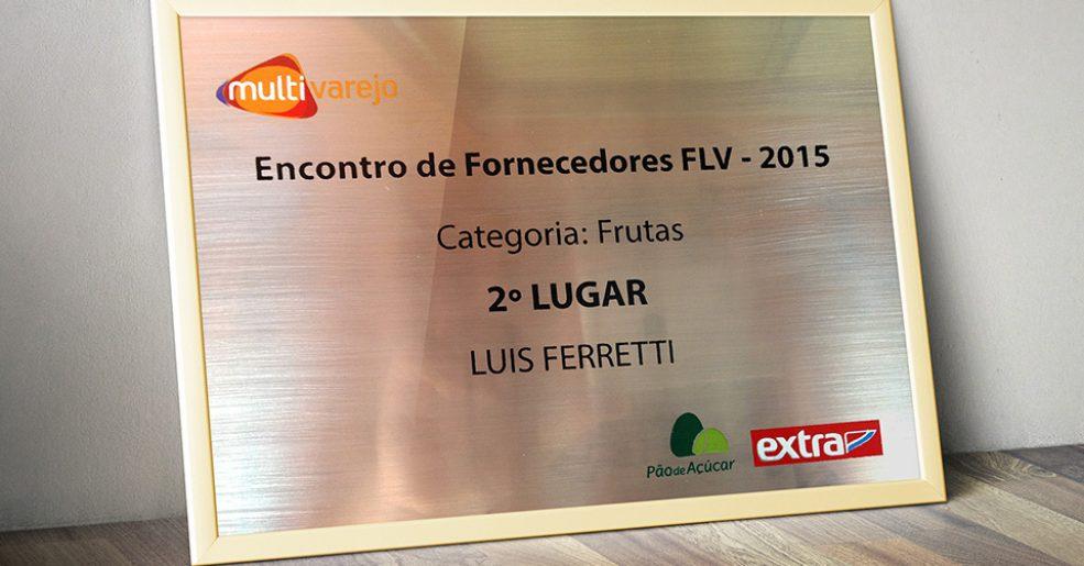 L.A. Ferretti é a segunda melhor do Brasil em frutas