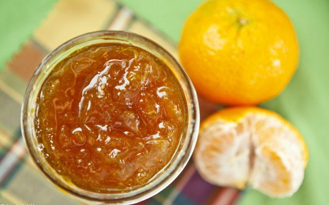 Geleia de tangerina