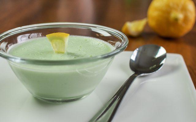 Mousse de Limão fácil e rápido