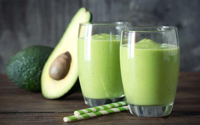 Milk-shake de abacate