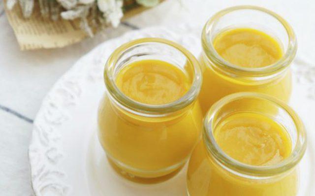 Mousse de tangerina de liquidificador