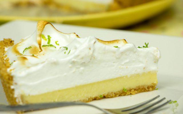 Torta de Limão com Merengue Italiano