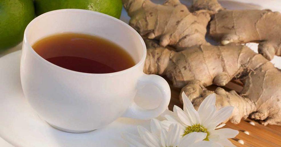 Chá de Limão com Gengibre: receita, benefícios e dicas