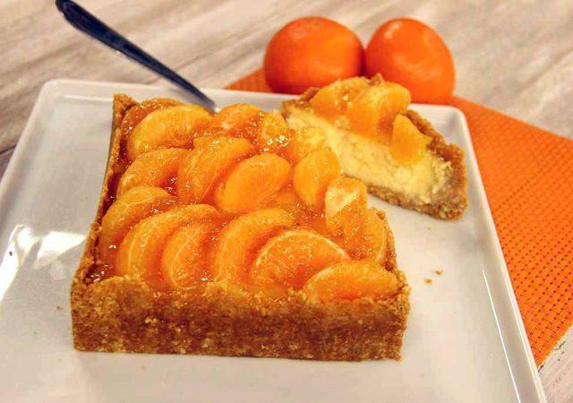Cheesecake de Tangerina