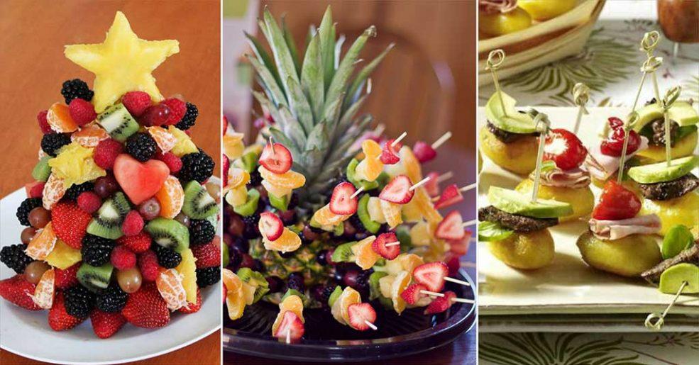 Inspirações com frutas para decorar sua mesa de Natal