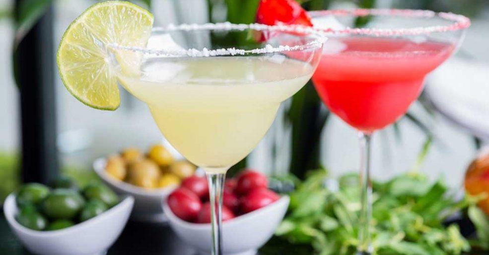 Coquetéis de frutas sem álcool para o Réveillon
