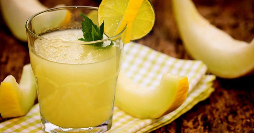 Suco de Melão com Limão