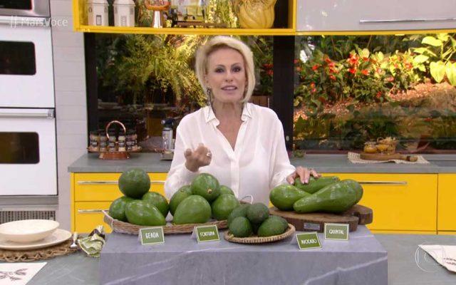 Programa Mais Você (Globo): Abacate é a fruta da vez no Brasil