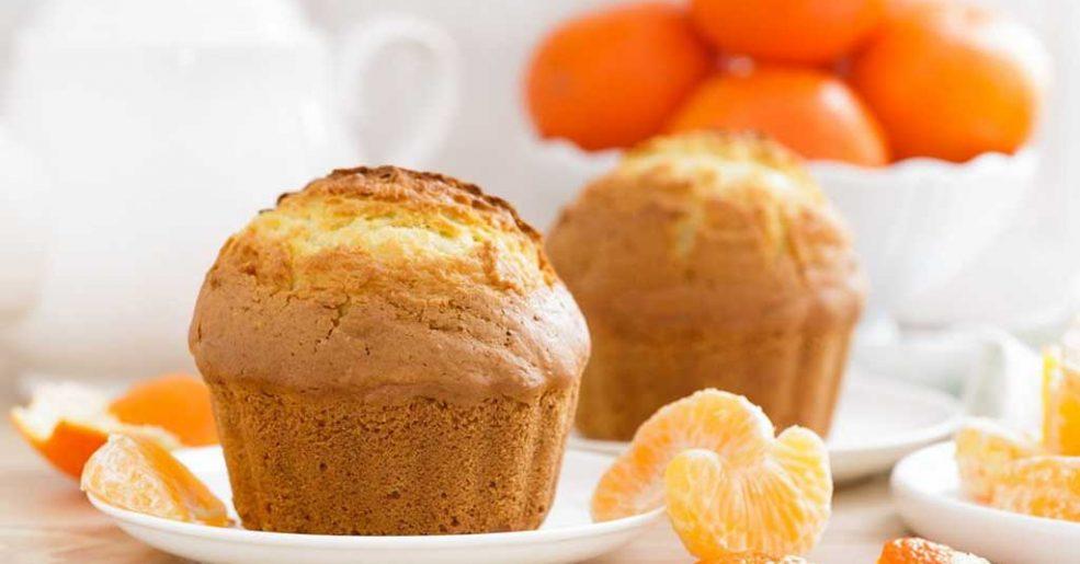 Muffin de tangerina
