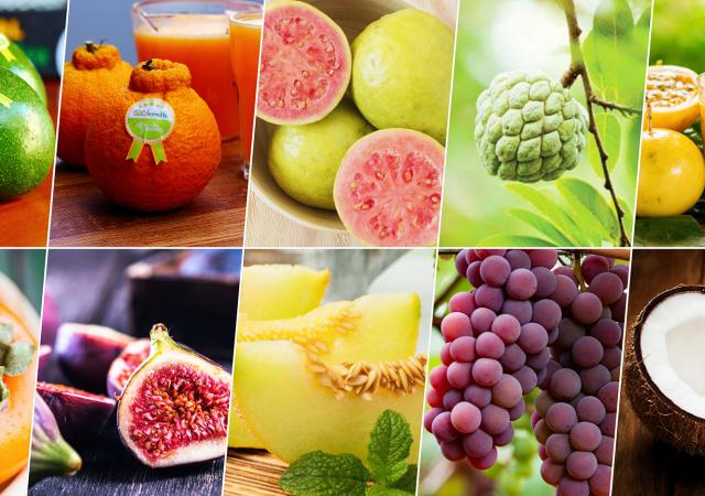 10 frutas do outono enchem a mesa de nutrientes