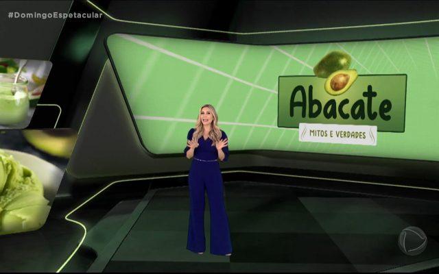 Os benefícios do abacate no Domingo Espetacular da Record TV