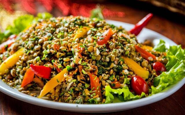 Salada de Lentilha para 2021